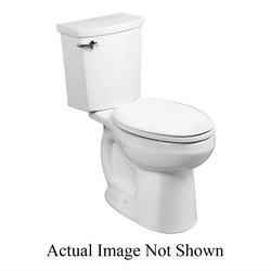 American Standard 3706216.020 H2Optimum™ Siphonic Toilet Bowl Only, Elongated, 8 x 9 in Water Surface, 2 in Trapway, Import