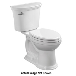 American Standard 3870A.101.020 Heritage® VorMax™ Right Height™ Toilet Bowl, Elongated, 16-1/2 in H Rim, 2-1/16 in Trapway, Import