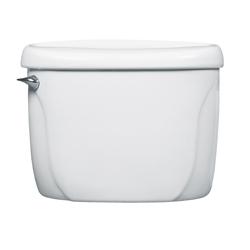 American Standard 4098100.020 Toilet Tank, Glenwall™, 1.6 gpf, Lever Flush Handle, 2 in Flush, White, Import