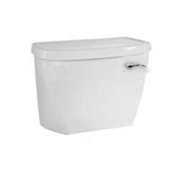 American Standard 4142.801.020 Toilet Tank and Tank Cover With Right Hand Trip Lever, Cadet® FloWise®, 1.1 gpf, White, Import