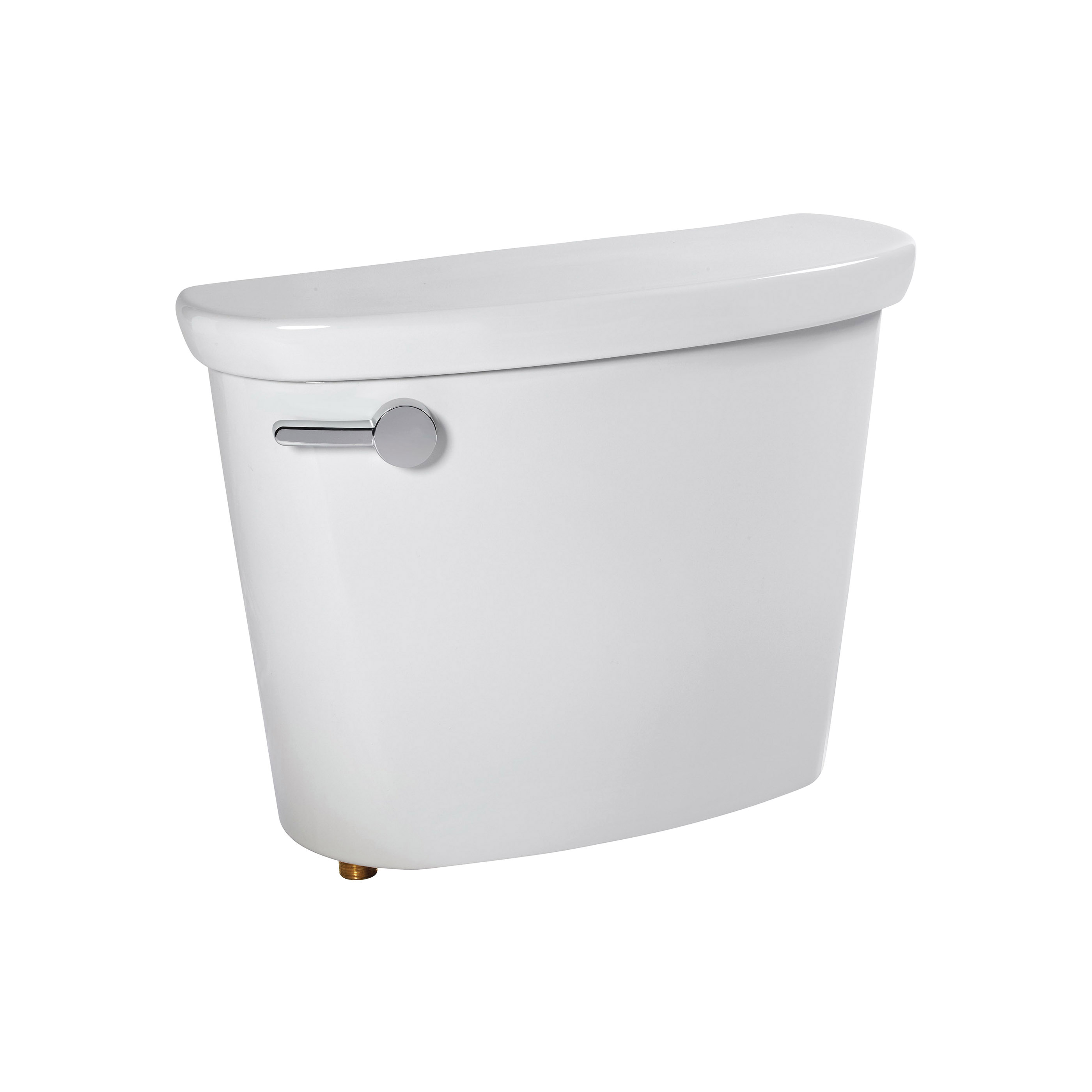 American Standard 4188B104.020 Toilet Tank with Left Hand Trip Lever, with 10 in Rough-In, Cadet® Pro™, 1.28 gpf, 3 in Flush, White, Import