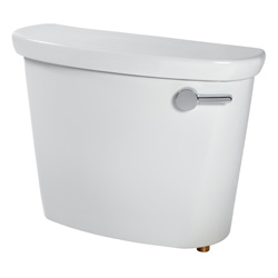 American Standard 4188B105.020 Toilet Tank With Trip Lever, Cadet® Pro™, 1.28 gpf, 3 in Flush, White, Import