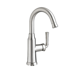 American Standard 4285410.002 Portsmouth® High-Arc Single Control Bar Sink Faucet With Pull-Down Spray, 2.2 gpm