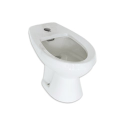 American Standard 5023111.020 Cadet® Bidet Toilet Without Faucet, Elongated Bowl, White, Import