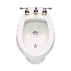 American Standard 5023.100.020 Cadet® Bidet Toilet With (2) Bolt Caps, Elongated Bowl, 14-7/8 in H Rim, White, Import