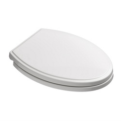 American Standard 5350110.020 Cadet® 3 Toilet Seat, Elongated Bowl, Closed Front, Slow Close Hinge, White, Import