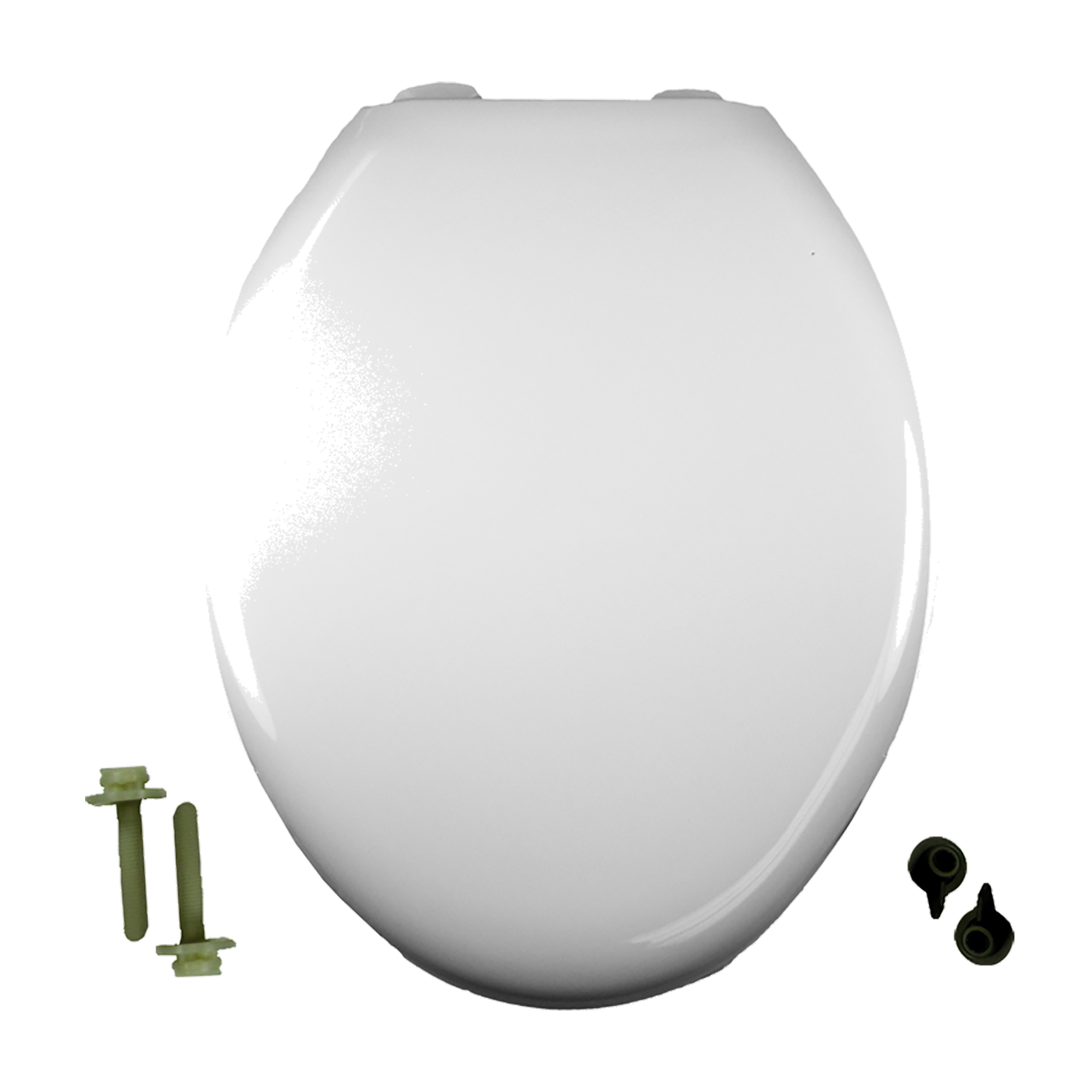 American Standard 5325.010.020 Champion® Slow-Close Toilet Seat, Elongated Bowl, Closed Front, Plastic, White