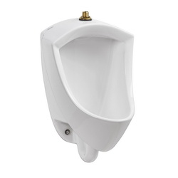 American Standard 6002001.020 Pintbrook™ Urinal, 0.125/0.5 gpf, Top Spud, Wall Mount, White, Import