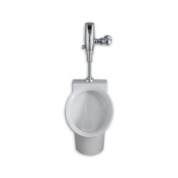 American Standard 6042633.020 Decorum® Urinal System With Selectronic® Battery Powered Flush Valve, 0.125 gpf, Top Spud, White, Import