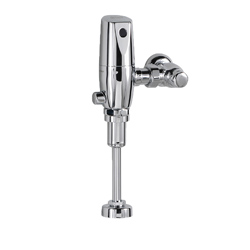 American Standard 6063101.002 Selectronic® Exposed Urinal Flush Valve, CR-P2 Lithium Battery, 1 gpf, 3/4 in Inlet, 3/4 in Spud, 20 to 80 psi, Import