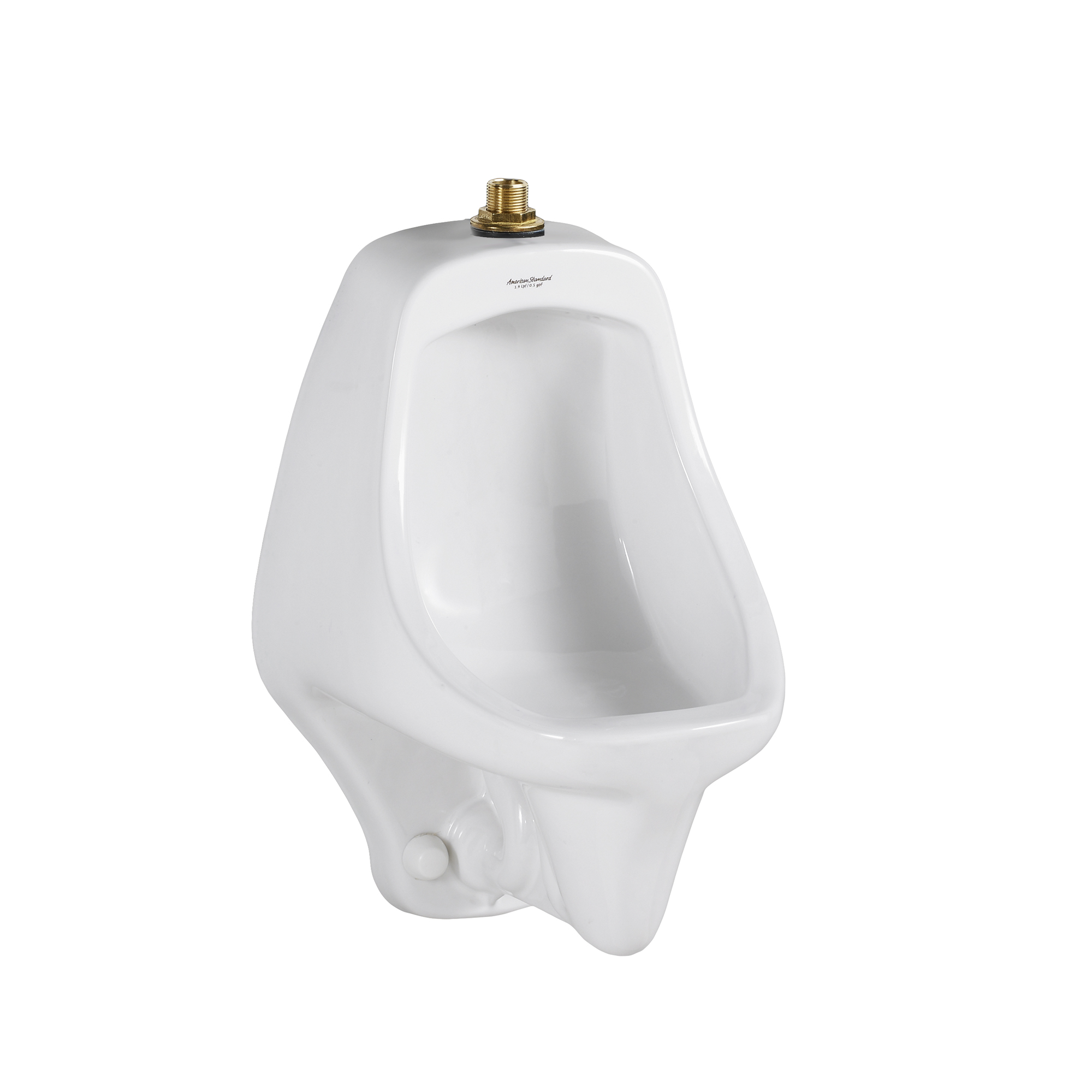 American Standard 6550001.020 Allbrook® FloWise® Universal Urinal, 0.5/1 gpf, Top Spud, Wall Mount, White, Import