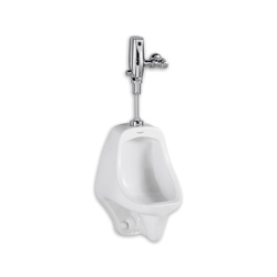 American Standard 6550.505.020 Allbrook® FloWise® Urinal, 0.5/1 gpf, Top Spud, White, Domestic