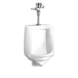 American Standard 6561.017.020 Trimbrook® Siphon-Jet Urinal, 1 gpf, Top Spud, Wall Mount, White, Import
