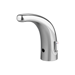 American Standard 7055205.002 Selectronic® Integrated Electronic Proximity Lavatory Faucet, 0.5 gpm, Polished Chrome, DC Battery, Import