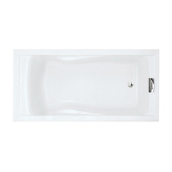 American Standard 7236V002.020 Evolution™ High Gross Bathtub, Soaking, Rectangular, 72 in L x 36 in W, White, Domestic
