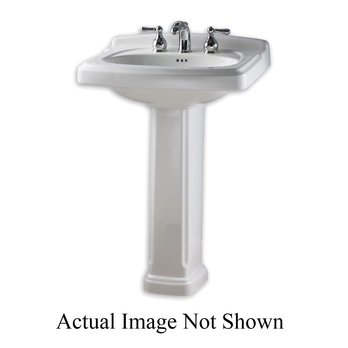 American Standard 734906-401.020 Portsmouth® Pedestal Only, 9 in W x, Vitreous China, Import