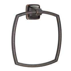 American Standard 7353190.278 Townsend® Bath Towel Ring, 6-7/8 in Dia Ring, 1-3/4 in OAD x 8-1/8 in OAH, Metal, Import