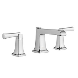 American Standard 7353.841.002 Townsend® Widespread Lavatory Faucet, 1.2 gpm, 3-3/16 in H Spout, 8 in Center, Polished Chrome, 2 Handles, Speed Connect® Pop-Up Drain, Import