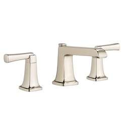 American Standard 7353.841.013 Townsend® Widespread Lavatory Faucet, 1.2 gpm, 3-3/16 in H Spout, 8 in Center, Polished Nickel, 2 Handles, Speed Connect® Pop-Up Drain, Import