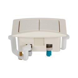 American Standard 7381092-200.0200A Rectangular Top-of-Tank Push Button Actuator, White, Import