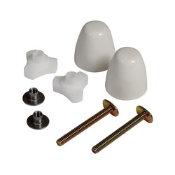 American Standard 7381251-200.0200A EZ-Install Bolt Cap Kit, White, Domestic