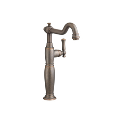 American Standard 7440.151.224 Quentin™ Monoblock Single Control Vessel Bathroom Faucet Without Drain, 1.2 gpm, 11-9/16 in H Spout, 1 Handle, Oil Rubbed Bronze, Import