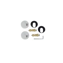 American Standard 760141-100.0070A Toilet Seat Hardware Mounting Kit, Import