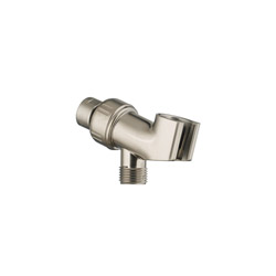 American Standard 8888096.295 Angle Adjustable Shower Arm Bracket, For Use With MONOGLIDE™ Water Saving 4-Function Hand Shower, 1/2 in NPT, Brass, Import