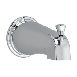 American Standard 8888.730.295 Portsmouth® Slip-On Diverter Tub Spout, Brass, Satin Nickel, Domestic