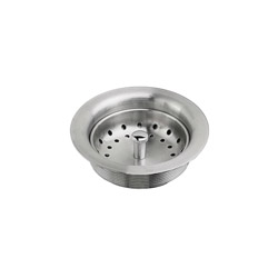 American Standard 9028000.075 Kitchen Sink Drain With Strainer, Stainless Steel Drain, Import