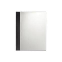 American Standard 9205101.339 Studio™ Wall Mirror, Rectangular, 22 in L x 28 in W, Espresso, Import