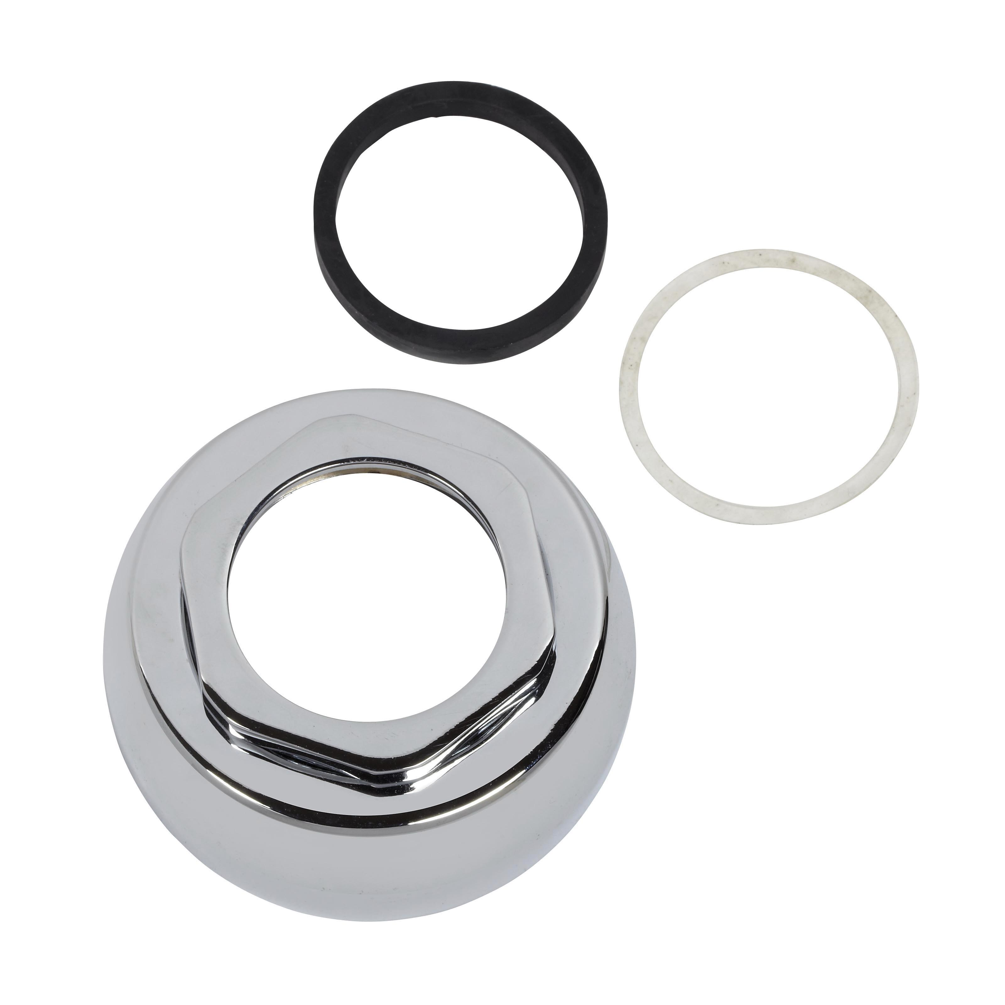 American Standard M952269-0020A Spud Assembly Kit, 1-1/2 in, For Use With American Standard Flush Valve, Polished Chrome, Import