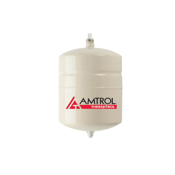 Amtrol® Therm-X-Trol® ST-5 ST Series In-Line Thermal Expansion Tank, 2 gal Tank, 0.9 gal Acceptance, 150 psig, ASME Yes/No: No, 8 in Dia x 13 in H