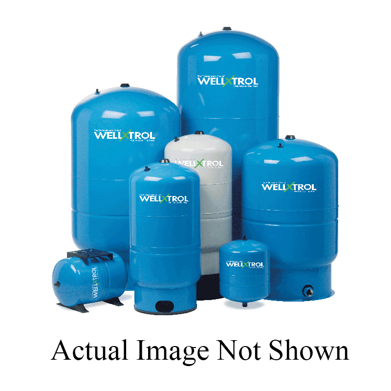 Amtrol® Well-X-Trol® Professional WX-200 Diaphragm Well Tank With Vertical Stand, 81 gal, 1-1/4 in MNPT Discharge Outlet
