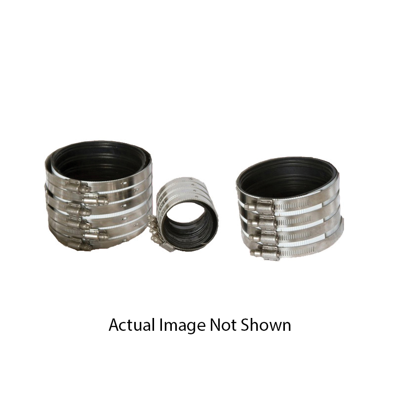 Anaco-Husky 2008 Husky® HD 2000 Pipe Coupling Without Hub, 3 in, 304 Stainless Steel, Domestic