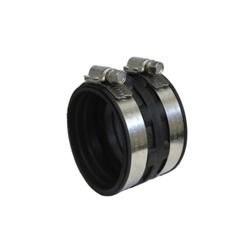 Anaco-Husky Rigid-Quik™ 6023 Slip-On Coupling, 2 in, Cast Iron/Plastic, Plastic, Domestic