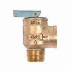 Apollo™ 1040705 10-400 Uni-Body Safety Relief Valve, 3/4 in, MNPT x FNPT, 30 psig, Bronze Body