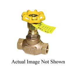 Apollo™ 33-134-01 33 Series Globe Valve, 3/4 in, NPT, 125 lb, Bronze Body, Hand Wheel Actuator, Domestic