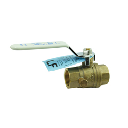 Apollo™ 95ALF-103-01 Lead Free Stop and Waste Ball Valve, 1/2 in, NPT, Brass Body