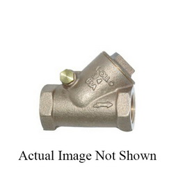 Apollo™ 61Y21501 164T Y-Pattern Swing Check Valve, 1 in, NPT, 150 lb, 28.6 gpm, Bronze Body, Low Lead Compliance: Yes, Domestic