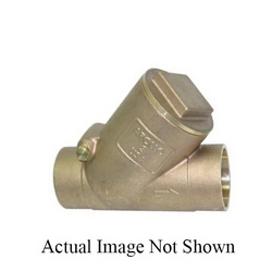 Apollo™ 61YLF104T1 163S-LF Swing Check Valve, 3/4 in, Solder, 125 lb, 12 gpm, Bronze Body, Low Lead Compliance: Yes, Domestic
