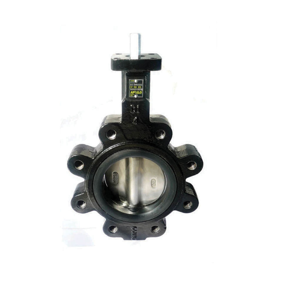 Apollo™ LD141 Lead Free Lug Style Resilient Seated Butterfly Valve, 2-1/2 in, Ductile Iron, Domestic