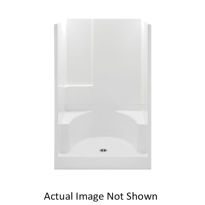 Consolidated Supply Co. | Aquatic 14832P-WH Everyday 2-Piece Shower ...