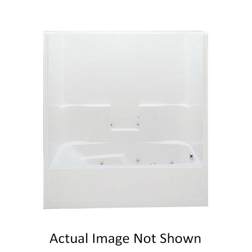 Consolidated Supply Co.   Aquatic 7236STR-WH Everyday 1-Piece Tub ...