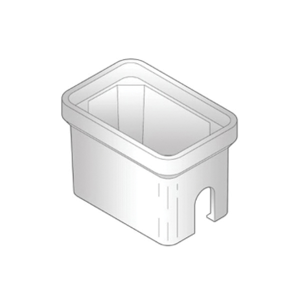 ARMORCAST® A6001419 Straight Wall Water Meter Box, 28 in L x 17 in W x 12 in H, Domestic