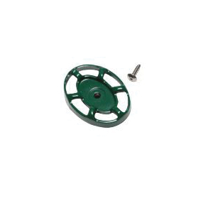 Arrowhead PK1290 Replacement Oval Handle and Screw, Green, Domestic