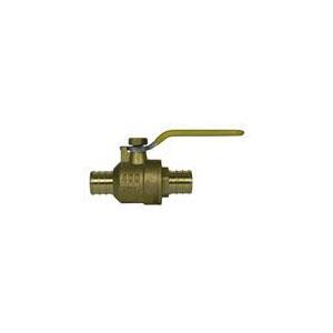 McDonald® 5420-459 72030EP Ball Valve, 1 in, PEX, Brass Body