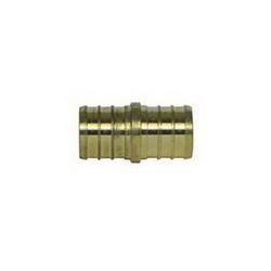 McDonald® 5423-004 72300 Coupling, 1 x 3/4 in, PEX, Brass