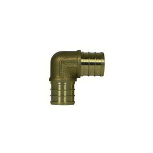 McDonald® 5423-006 72390 90 deg Elbow, 3/4 in, PEX, Brass