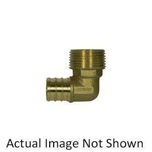 McDonald® 5423-010 72391 90 deg Male Adapter Elbow, 3/4 in, PEX x MNPT, Brass